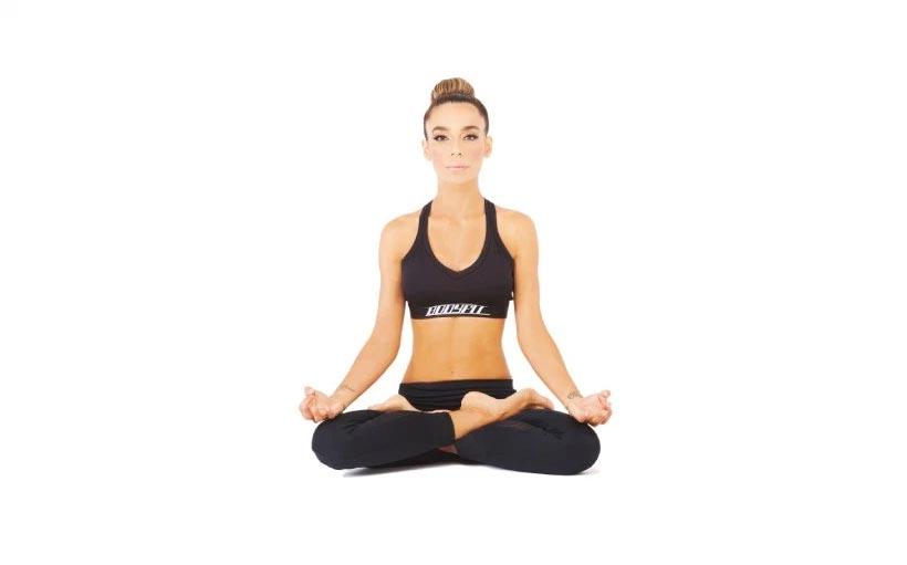 Clase de yoga con Yudy Arias