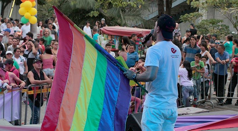 egoCity en la marcha del orgullo LGBT Medellín 2015