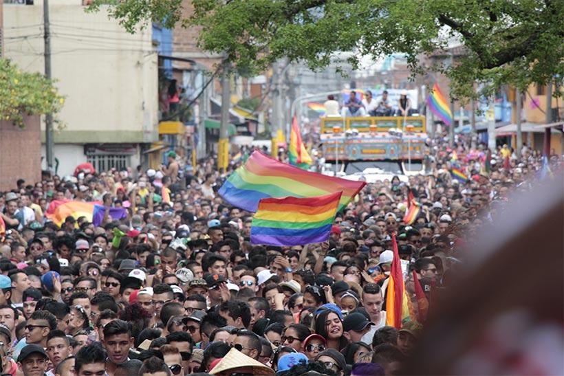 Marcha orgullo LGBT Medellín 2015