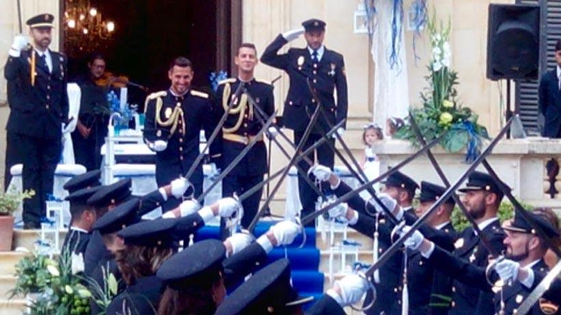 Boda gay en Policía española