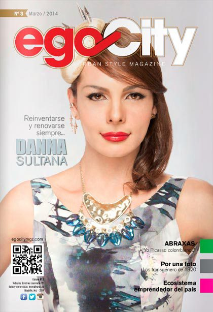 Danna Sultana en la Revista GAY de Colombia