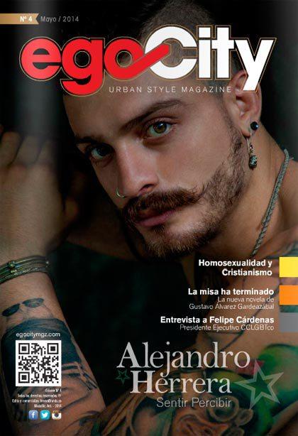 Alejandro Herrera en la Revista GAY de Colombia