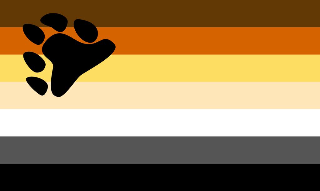 Bandera de la Hermandad Internacional de Osos