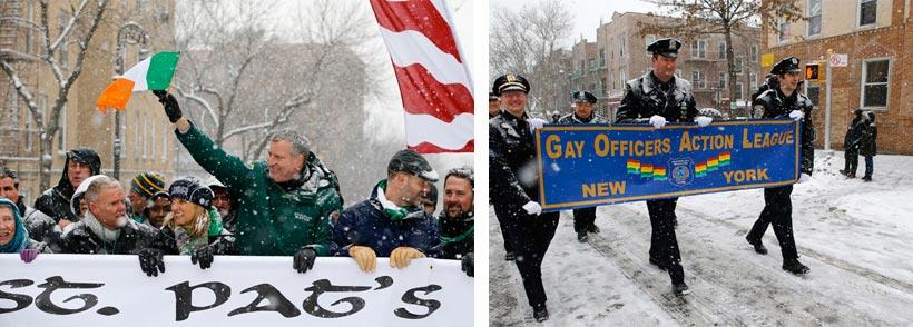 Alcalde de Nueva York se niega a participar en desfile del Día de San Patricio