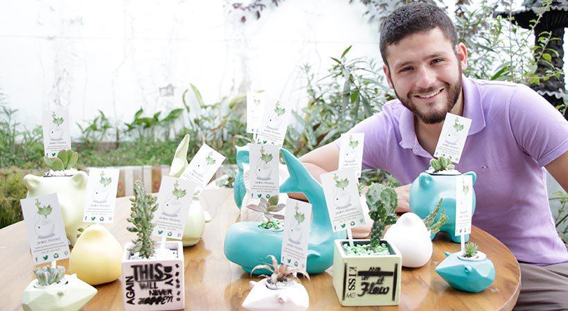 Josué Iral Galeano. Jardines Interiores