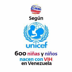 Según Unicef - 600 niñas y niños nacen con VIH en Venezuela
