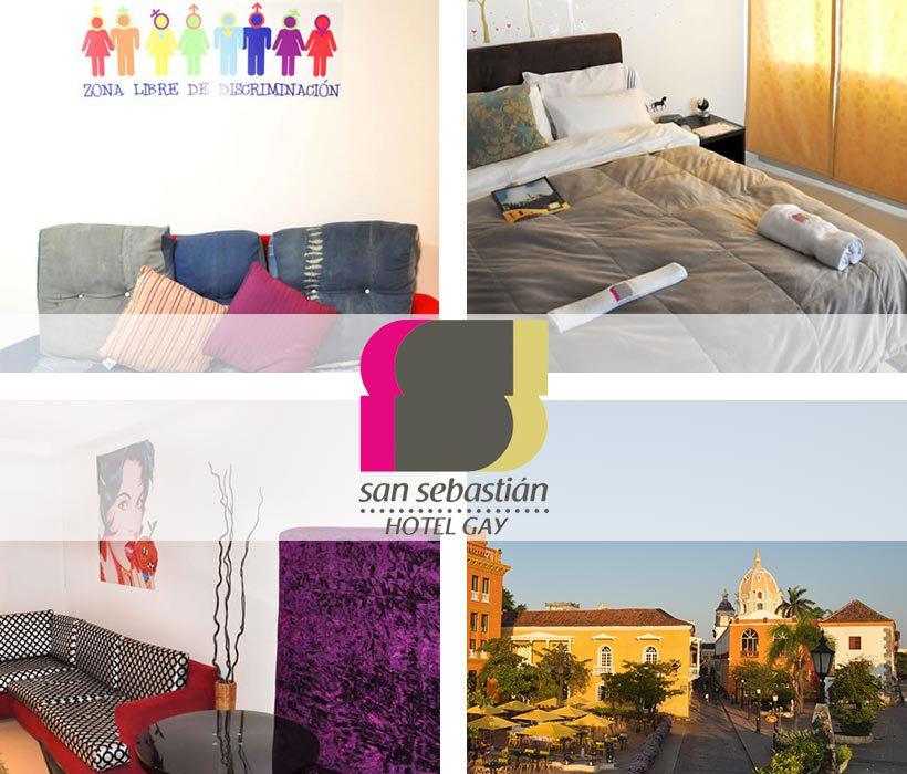 Turismo Colombiano LGBT San Sebastián hotel Gay