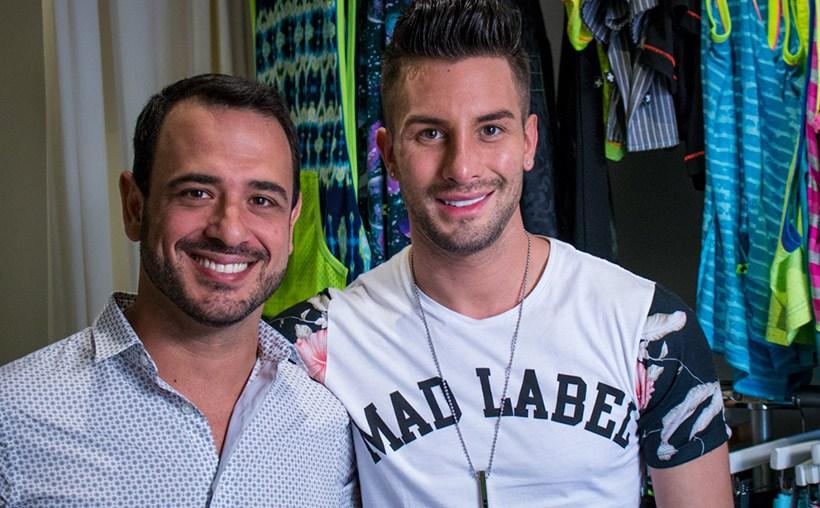 Andrea Suarez junto a Marco Jaramillo