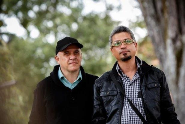 Carlos Ardila y Gonzalo Ruiz primer matrimonio gay en Colombia.