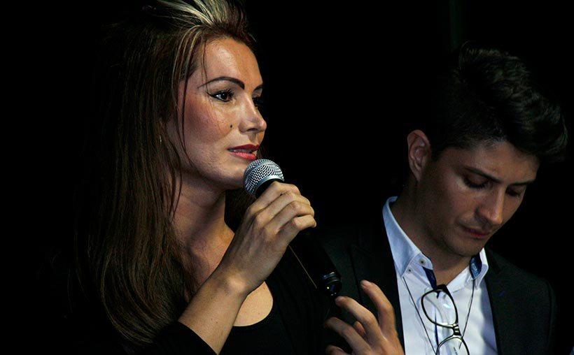 Daniela García, politóloga y activista LGBT. Foto: Raúl Jaramillo