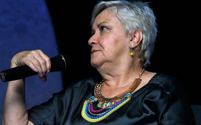 """Flor María Bouhot, artista de """"Universo de los Diverso"""". Foto: Raúl Jaramillo"""