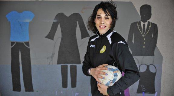 Izaro Antxia, Portugalete. 35 años. Deportista Transexual. Jugadora de fútbol sala.