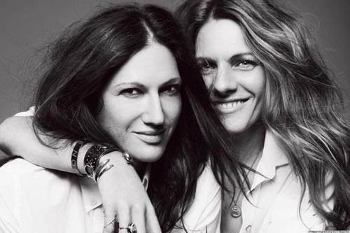 Jenna Lyons y Courtney Crangi