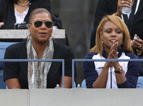 Queen Latifah y Eboni Nichols