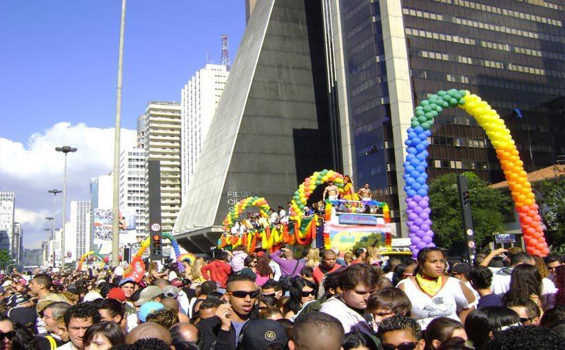 Sao Paulo, Brasil LGBT