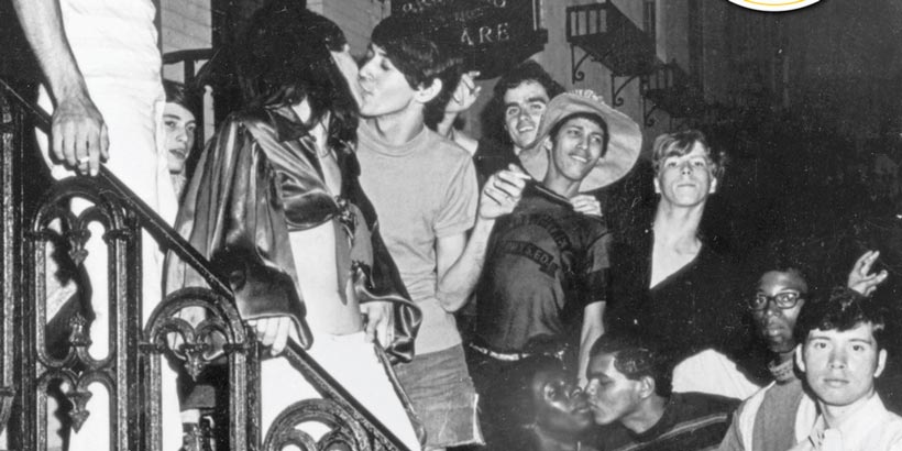 Disturbios de Stonewall en 1969 (Huffpost)