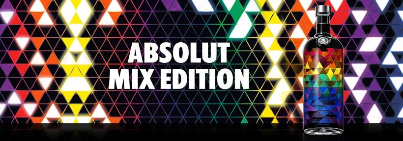 Absolut Mix Edition para celebrar la diversidad