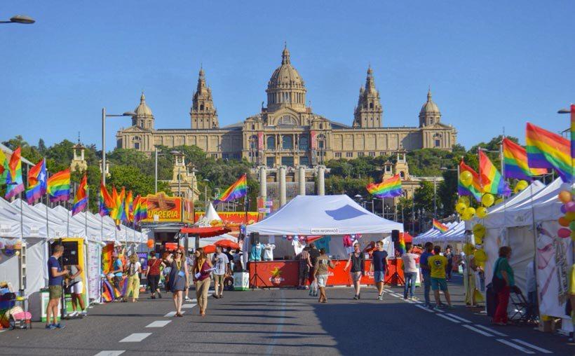 Barcelona, España LGBT