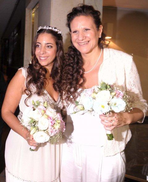 Romi Charur y Vicky Escobar