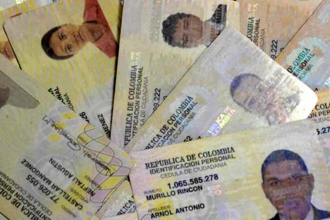 Cédulas Colombianas