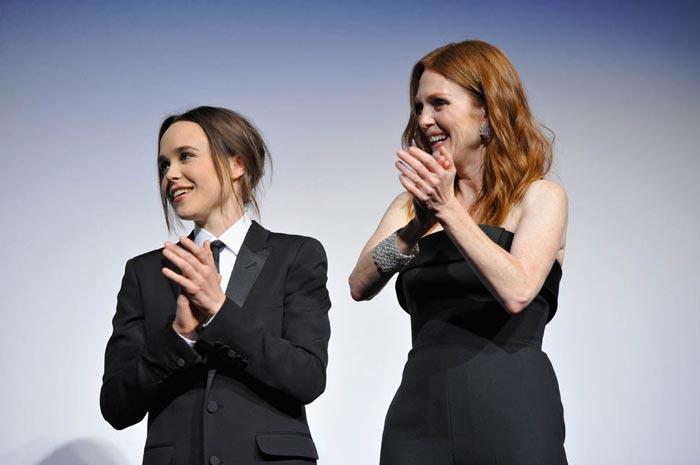 Julianne Moore y Ellen Page enTIFF 2015