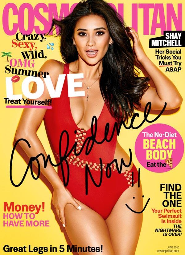 Shay Mitchell Cosmopolitan