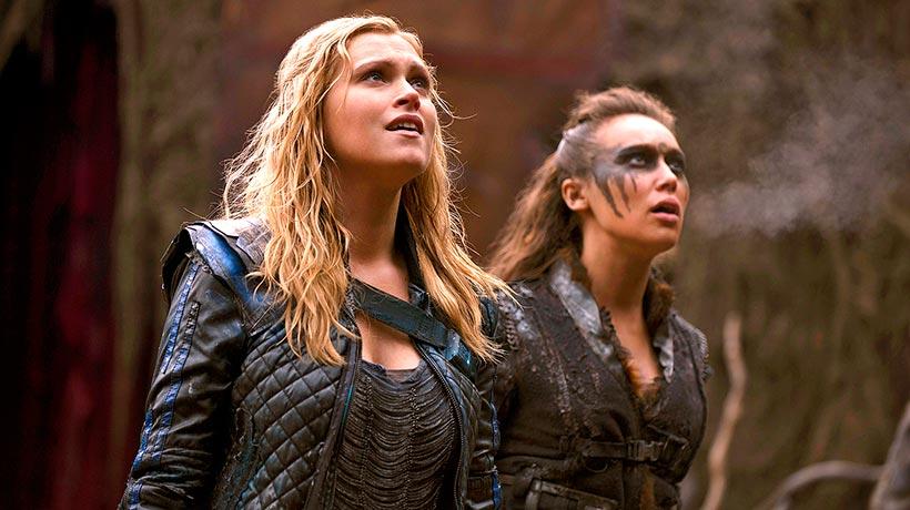 Lexa y Clarke una atracción que no pasa desapercibida. / Foto: vayatele.com