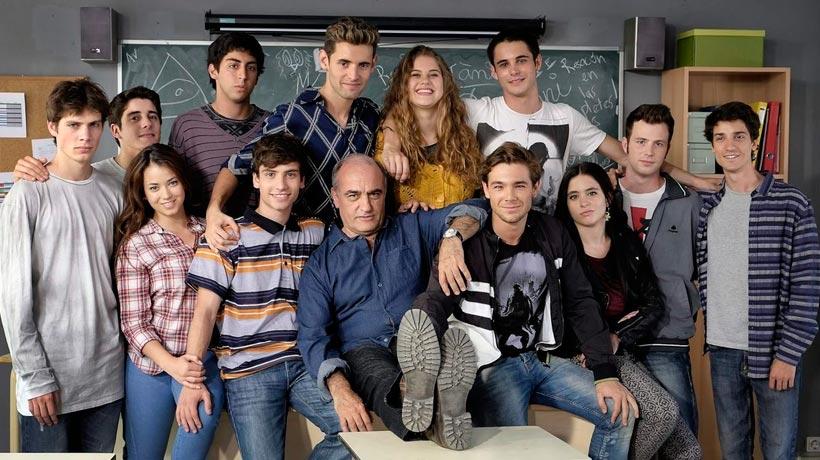 El elenco juvenil de Merlí. / Foto: revistayoung.cat