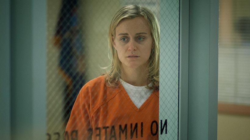 Piper Chapman (Taylor Schilling) intenta sobrevivir en la cárcel de mujeres. / Foto: altapeli.com