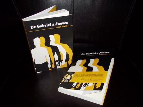 "Portada ""De Gabriel a Jueves"" de Juan Flahn."