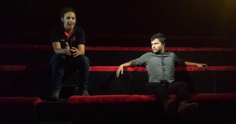 Daniel Tapias de SexoSentido y Antonio Usiga de Divina Obscenidad. / Foto: egoCity