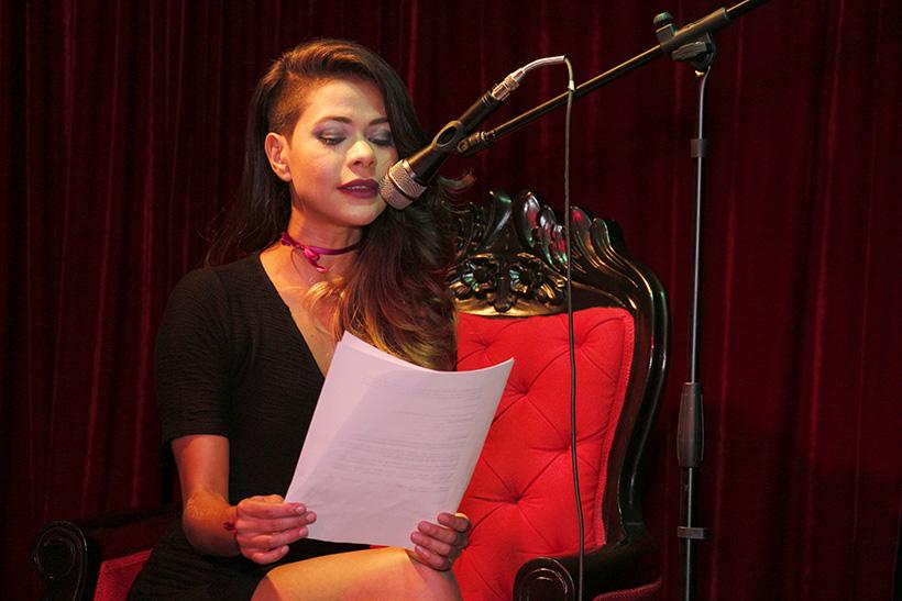 Daissy Vera, presentadora del AEFEST. / FOTO: egoCity