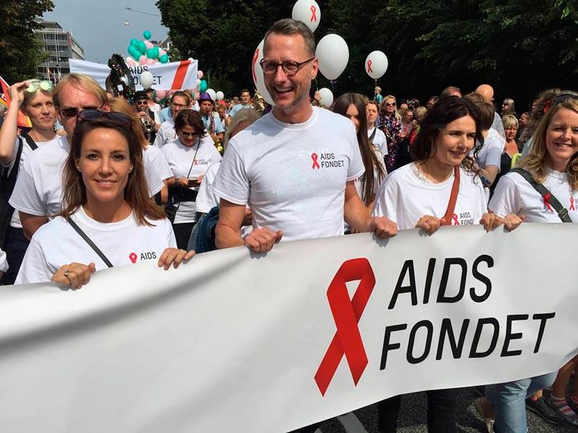 FOTO: facebook.com/aidsfondet/