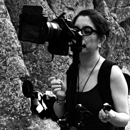 Marioli Betsabe Donoso Olguin, diseñadora gráfica y fotógrafa chilena. Autora del proyecto Visibles. / FOTO: betsabedonoso.com