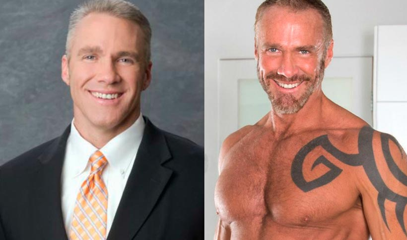 Jim Walker lidero los noticieros de las cadenas FOX, NBC y CBS, ahora es actor porno gay. / FOTO: elespanol.com