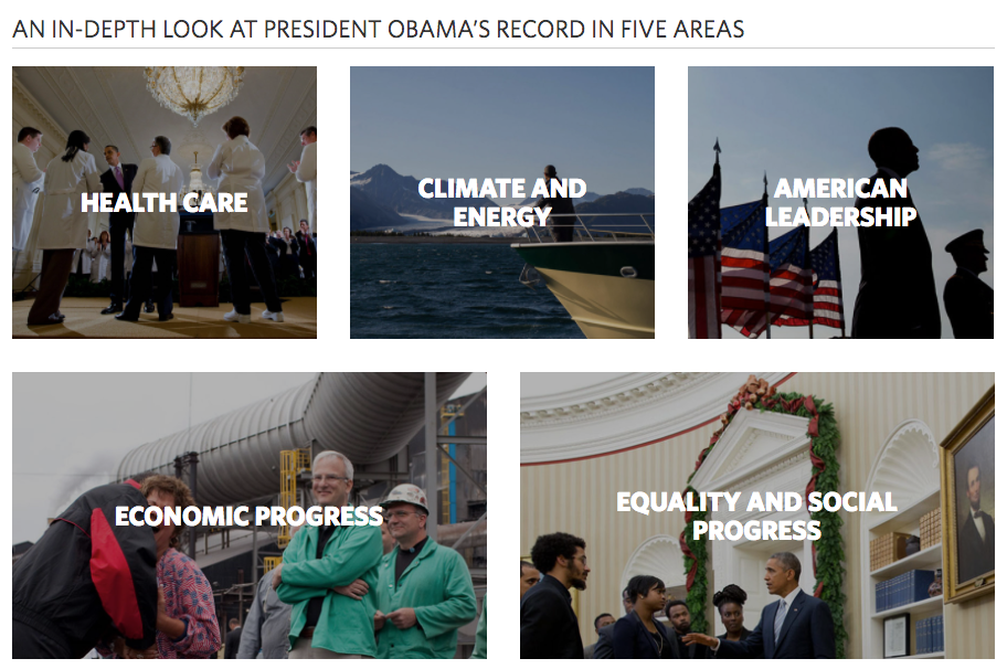 Casa Blanca Presidente Obama Web Areas