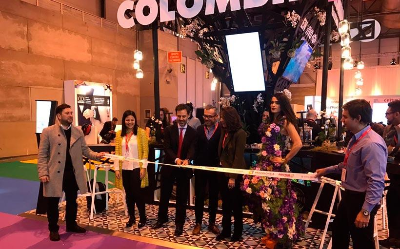 Inauguración del stand de Colombia en el Fitur Gay 2017. / FOTO: EgoCity