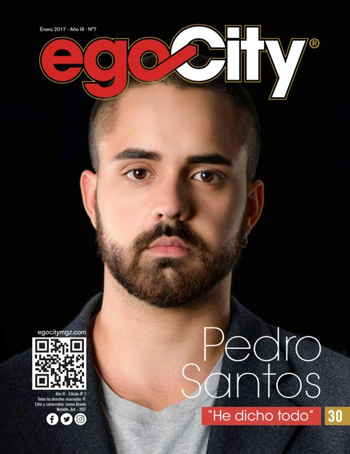 Pedro Santos en la revista GAY Colombia
