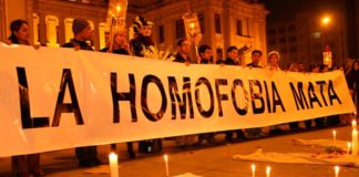 Perú registra 16 crímenes de odio LGBT durante todo año pasado