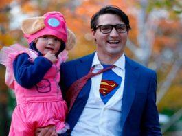 De Princesa, así se disfrazó el hijo de Justin Trudeau.