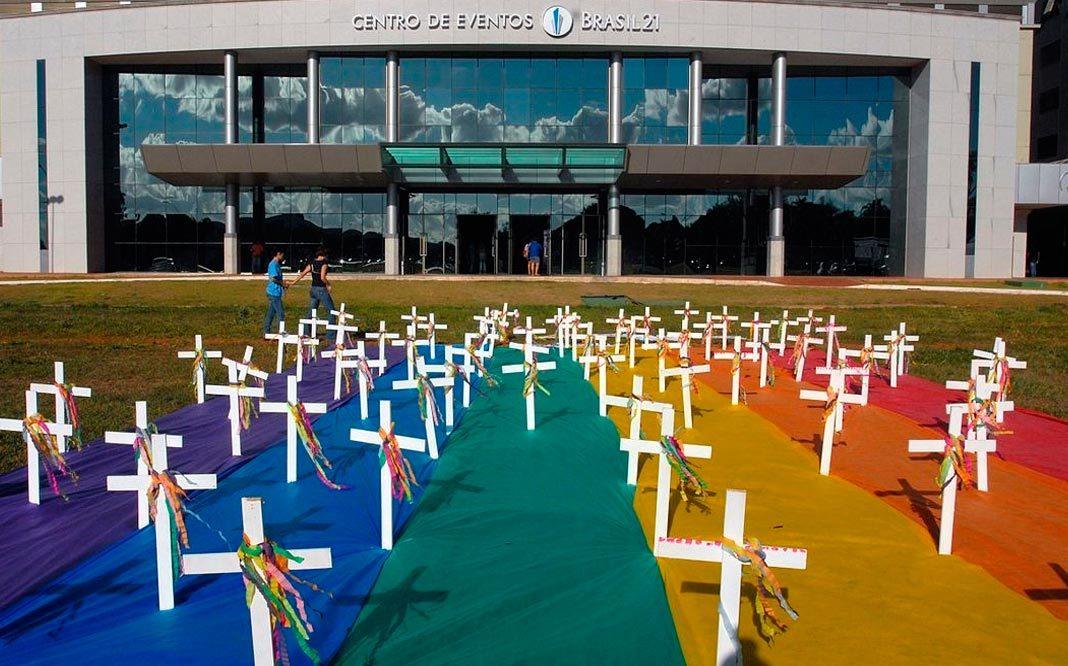 Brasil es el país con más muertes de la población LGBT