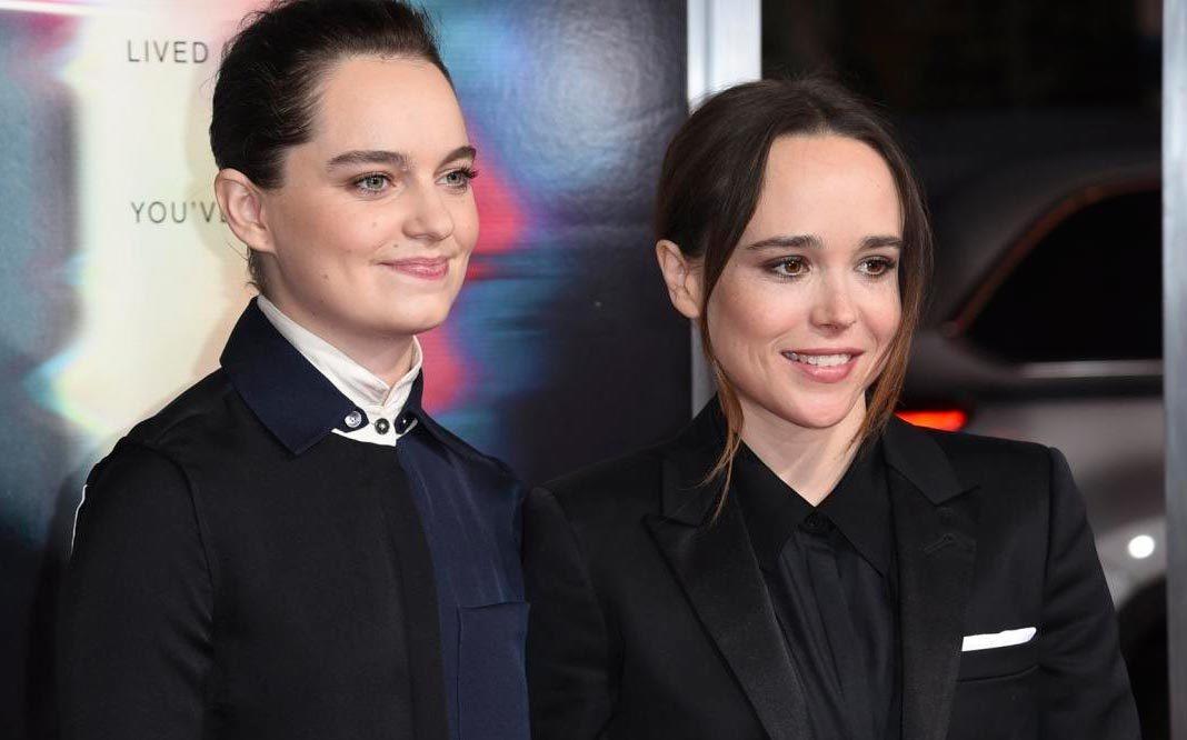 La actriz Ellen Page contrae matrimonio con su novia
