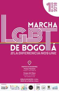 marcha del orgullo gay en colombia 2018 - bogota