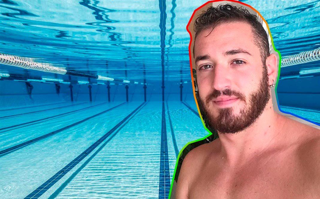 El Nadador Olímpico Carlos Peralta