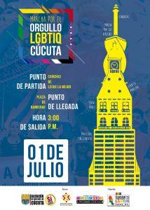 marcha del orgullo gay en colombia 2018 - Cucuta