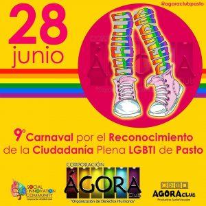 marcha del orgullo gay en colombia 2018 - Pasto