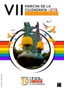 marcha del orgullo gay en colombia 2018 - Valledupar