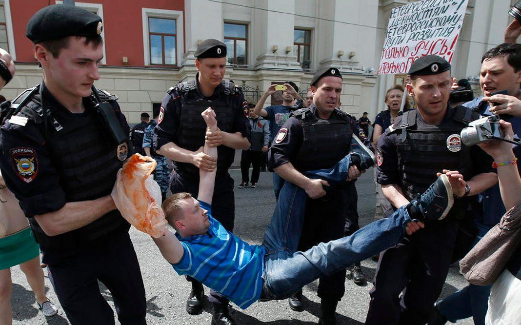 activistas LGBT son arrestados