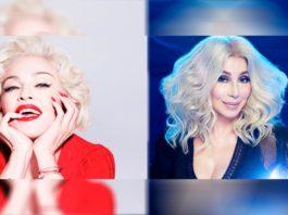 Madonna con el cover de Cher